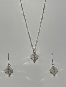 Whetu (star) Necklace and Earrings